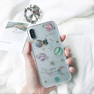 Iphone X Planet Galaxy Phone Case